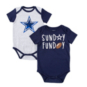 Dallas Cowboys Infant Vito 2-Pack Bodysuit Set