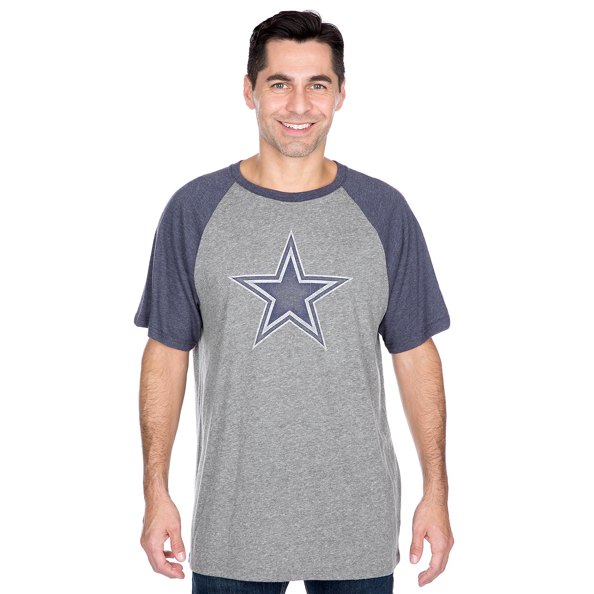 Dallas Cowboys Worn Practice Premier Raglan Tee