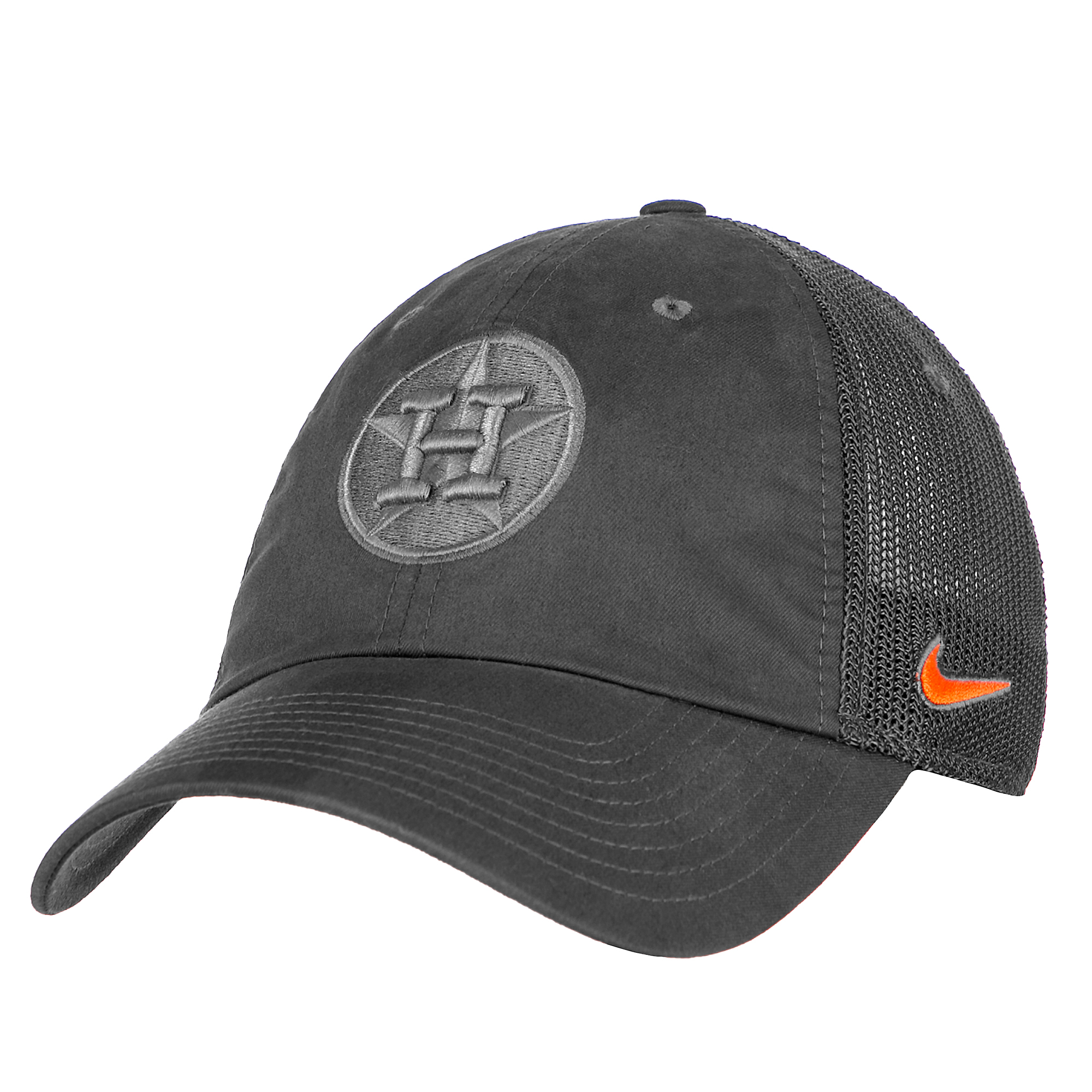08ed67221 Houston Astros Nike Heritage86 Fabric Adjustable Cap
