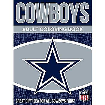 Dallas Cowboys Adult Coloring Book