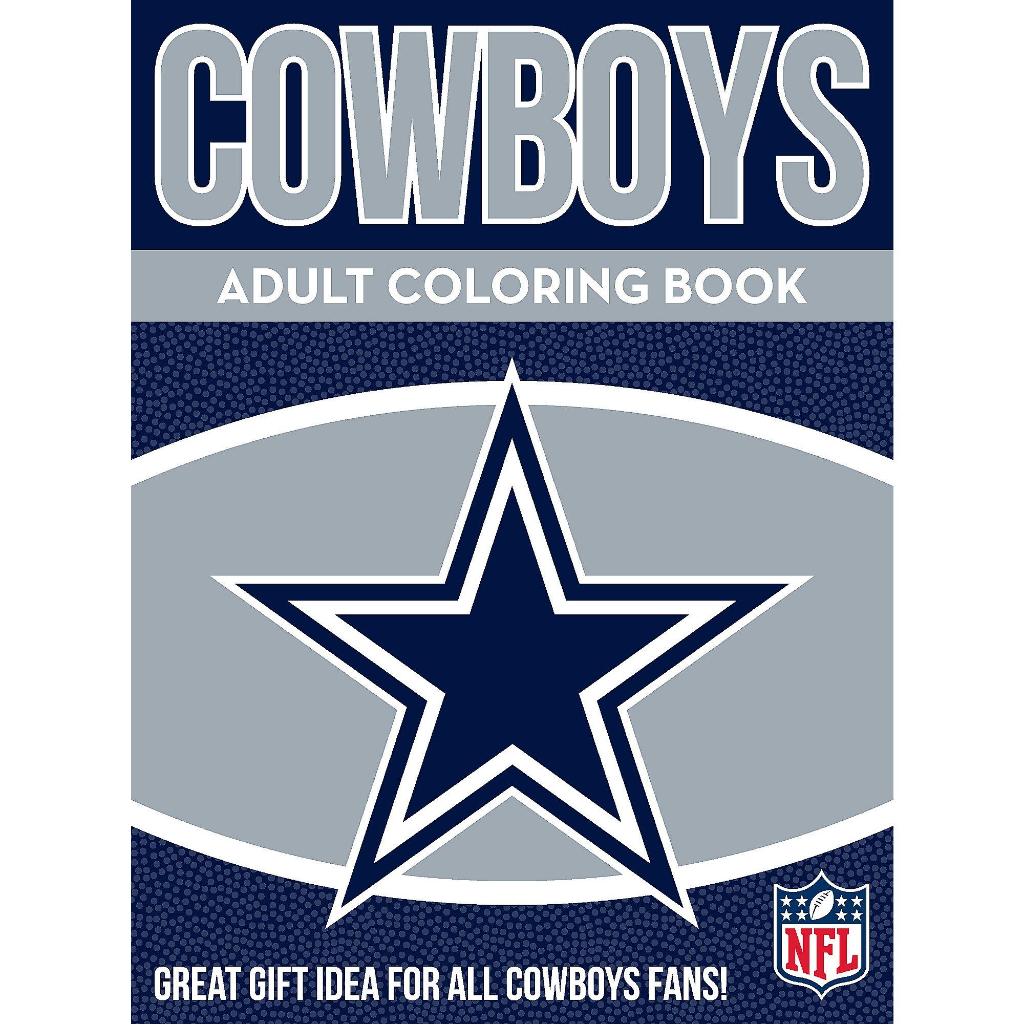 Dallas Cowboys Adult Coloring Book Dallas Cowboys Pro Shop