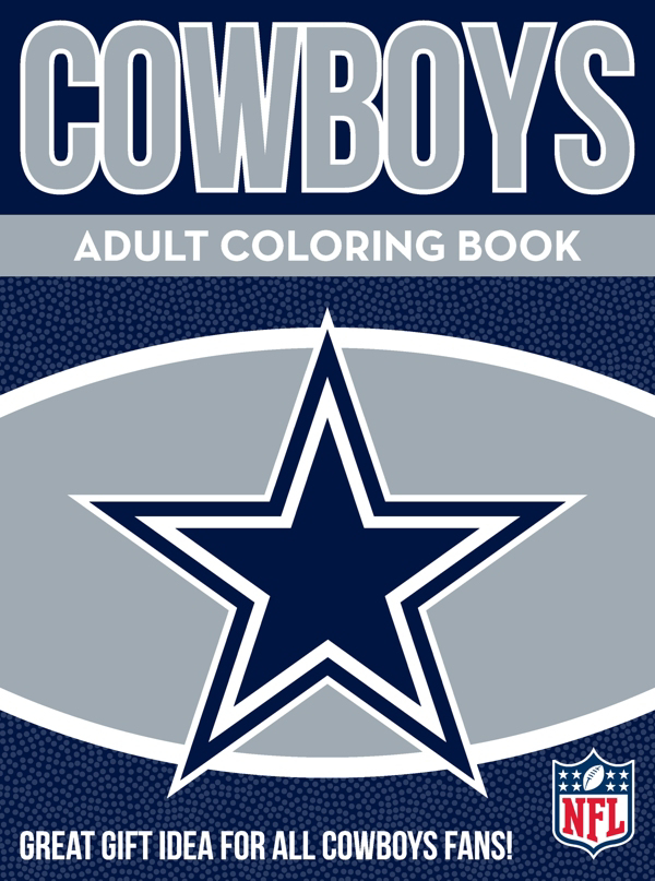 Dallas Cowboys Adult Coloring Book