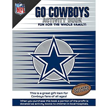 Dallas Cowboys Kid's Activity Book