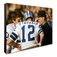 Dallas Cowboys Staubach/Landry Canvas