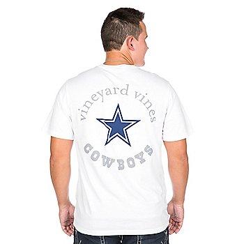 Dallas Cowboys Vineyard Vines Star Pocket Tee