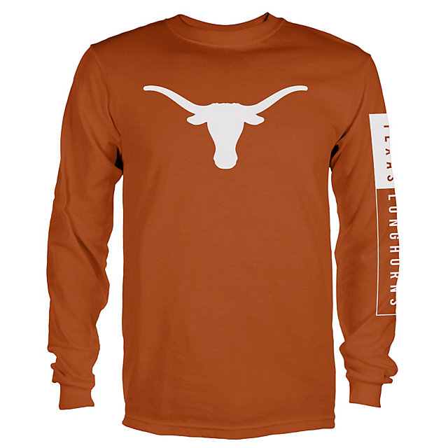 Texas Longhorns Blockade Long Sleeve Tee