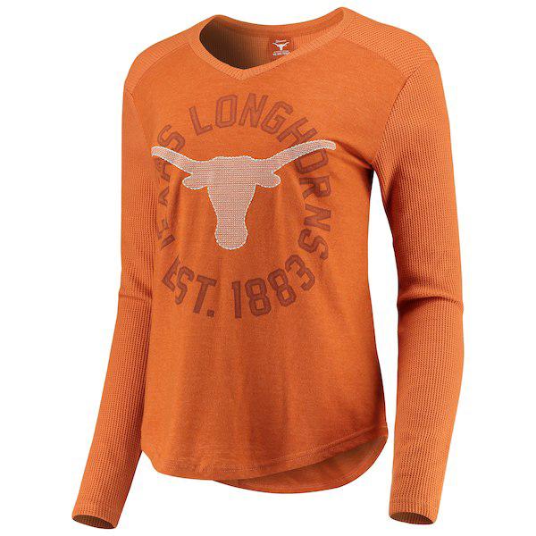 Texas Longhorns Celeste Long Sleeve Tee