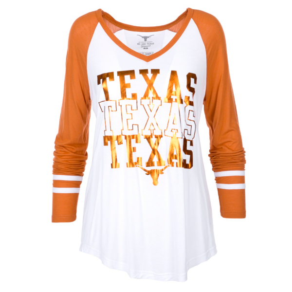 Texas Longhorns Hera Long Sleeve Tee