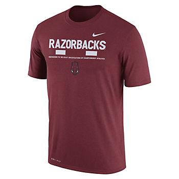 Arkansas Razorbacks Nike Staff Tee