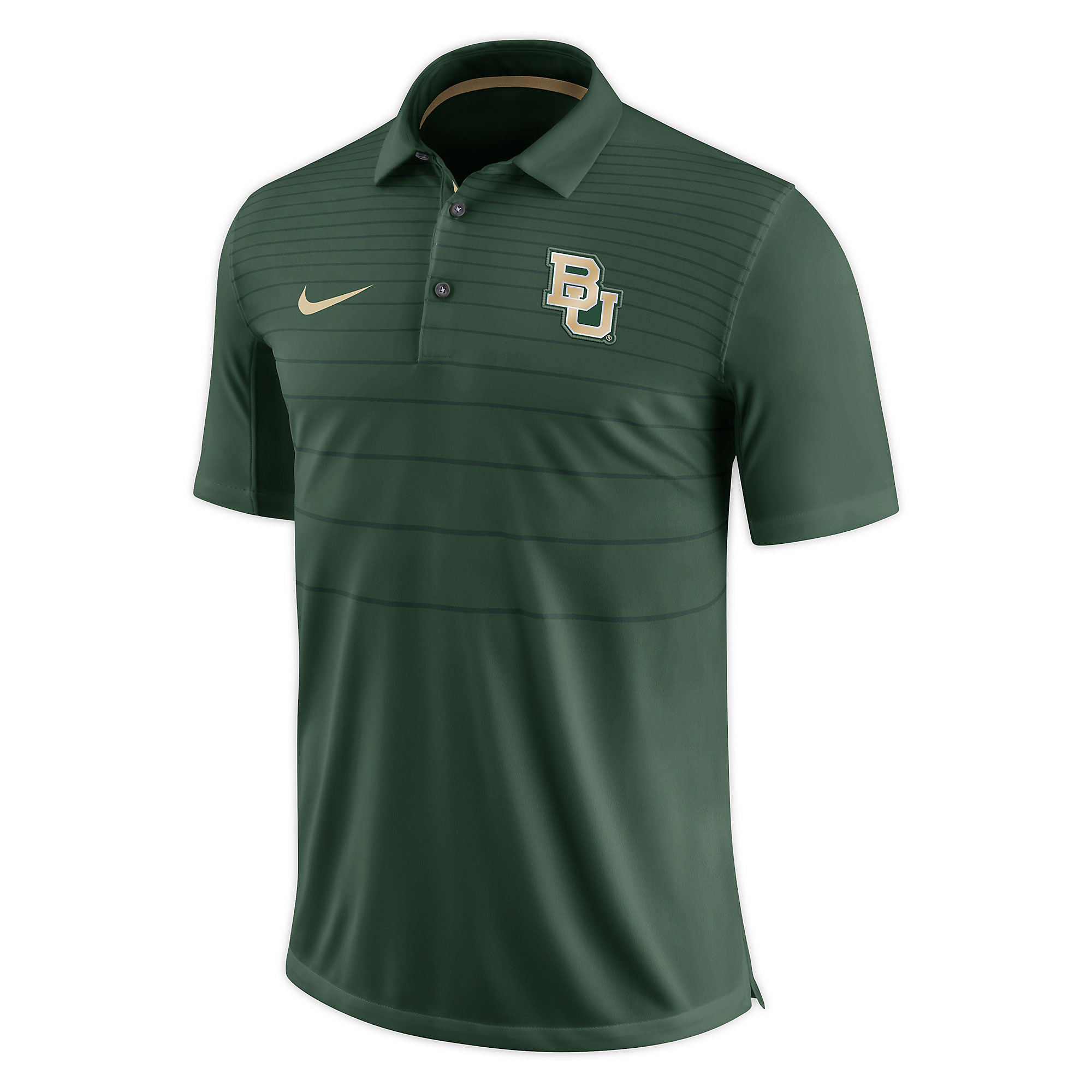 Baylor Bears Nike Early Season Short Sleeve Polo