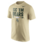 Baylor Bears Nike Gold Local Verbiage Tee