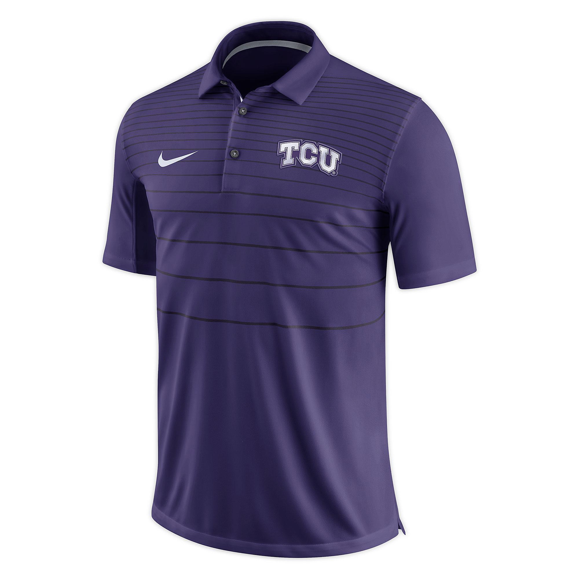TCU Horned Frogs Nike Early Season Short Sleeve Polo