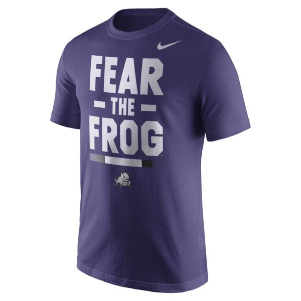 TCU Horned Frogs Nike Local Verbiage Tee