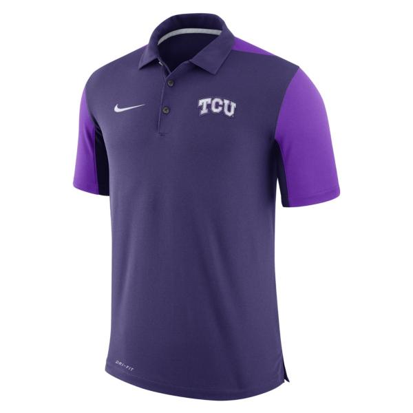 TCU Horned Frogs Nike Team Polo