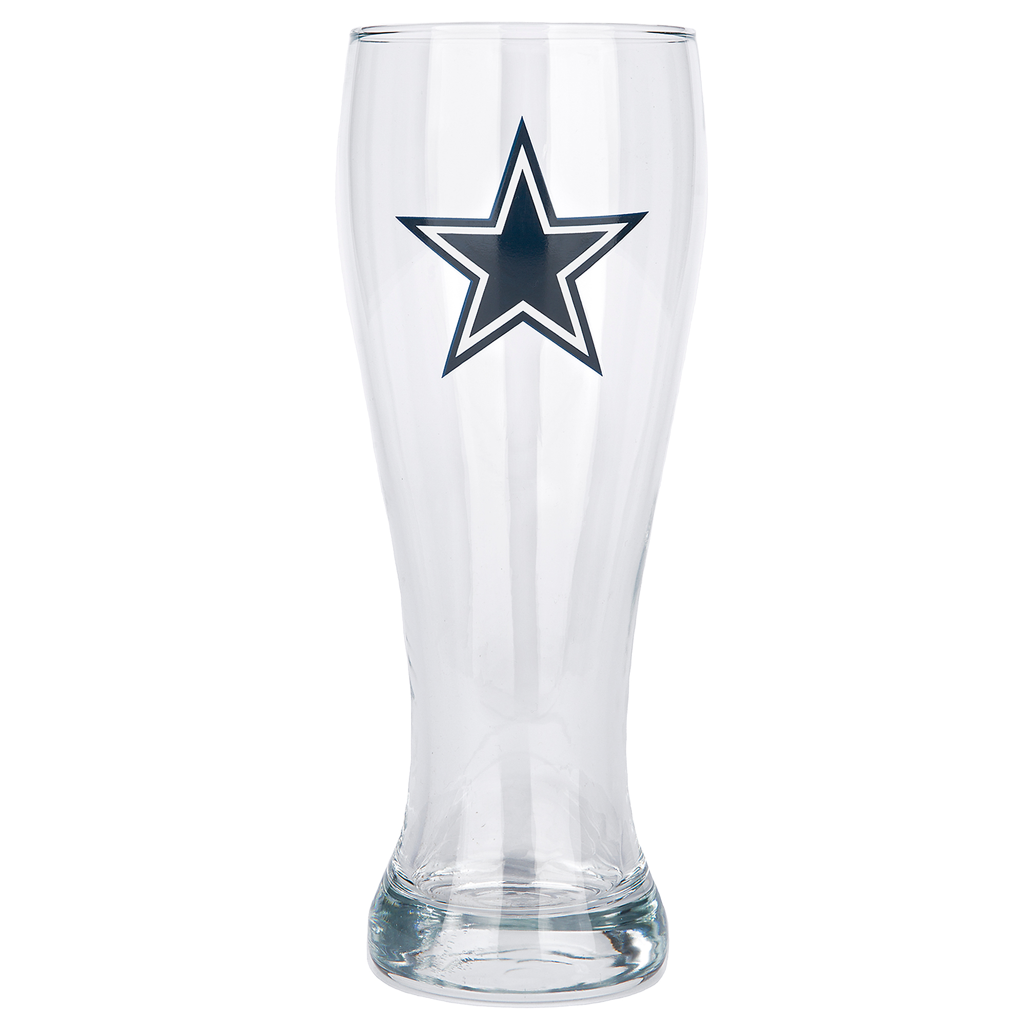 Dallas Cowboys 23 oz Glass Pilsner