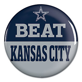 Dallas Cowboys Beat Chiefs Button