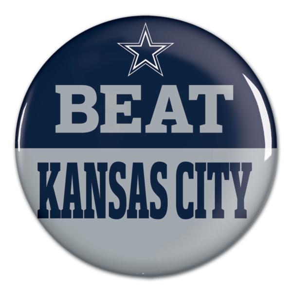 Dallas Cowboys Beat Chiefs Button