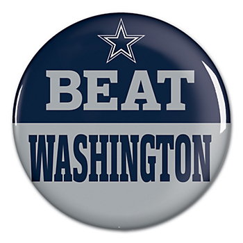 Dallas Cowboys Beat Redskins Button