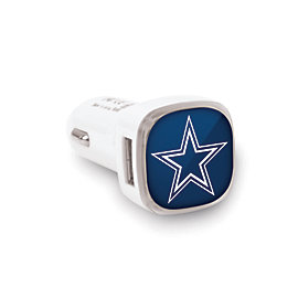 Dallas Cowboys Big Logo 2-Port 2.1 Amp Car Charger