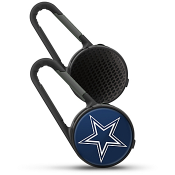 Dallas Cowboys Bluetooth Speaker with Carabiner