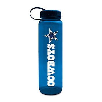 Dallas Cowboys Clear Plastic Water Bottle