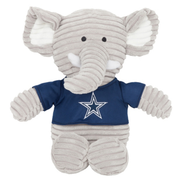 Dallas Cowboys Corduroy Plush Elephant