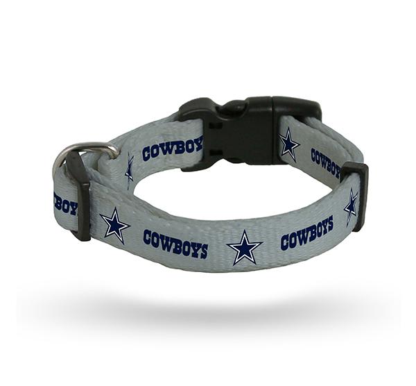 Dallas Cowboys Pet Collar - Medium