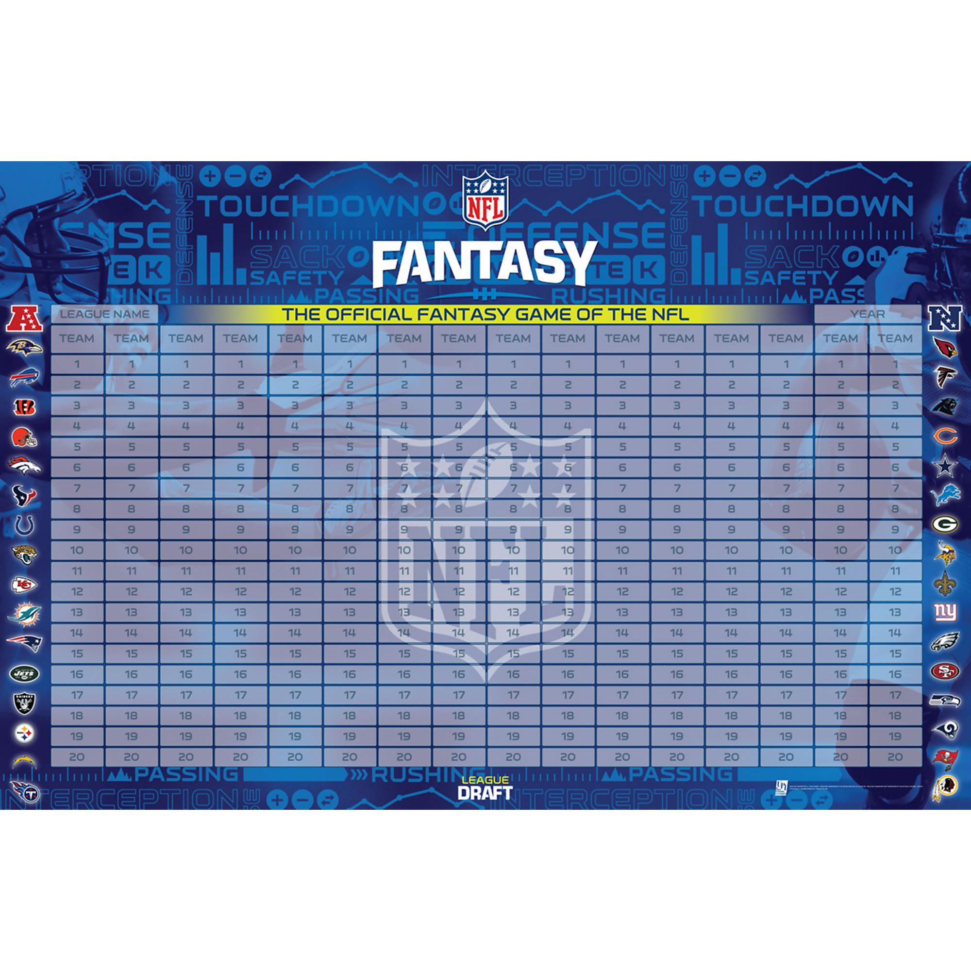 Dallas Cowboys NFL Fantasy Football Draft Kit
