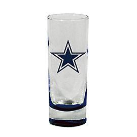 Dallas Cowboys Highlight Bottom Cordial Glass