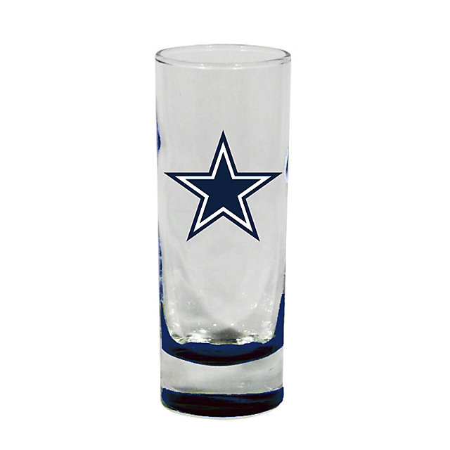 Dallas Cowboys Highlight Bottom Cordial Glass