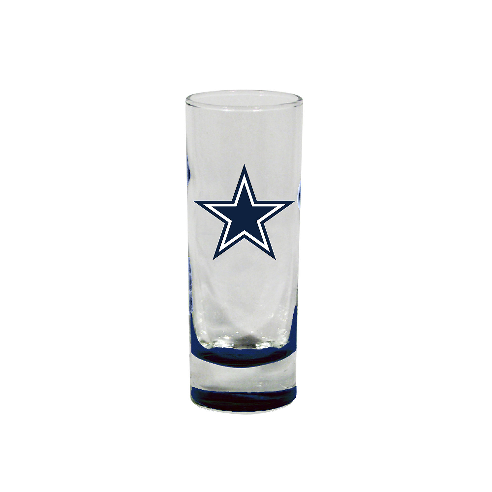 Dallas Cowboys Highlight Bottom Cordial Shot Glass