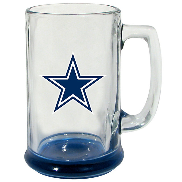 Dallas Cowboys Highlight Glass Stein