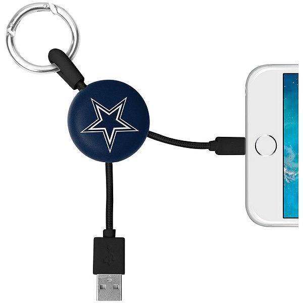 Dallas Cowboys Lightning Keyring Cable