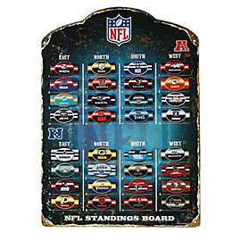 Dallas Cowboys NFL Magnetic Standings Board