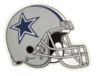 Dallas Cowboys Outdoor Small Helmet Graphic