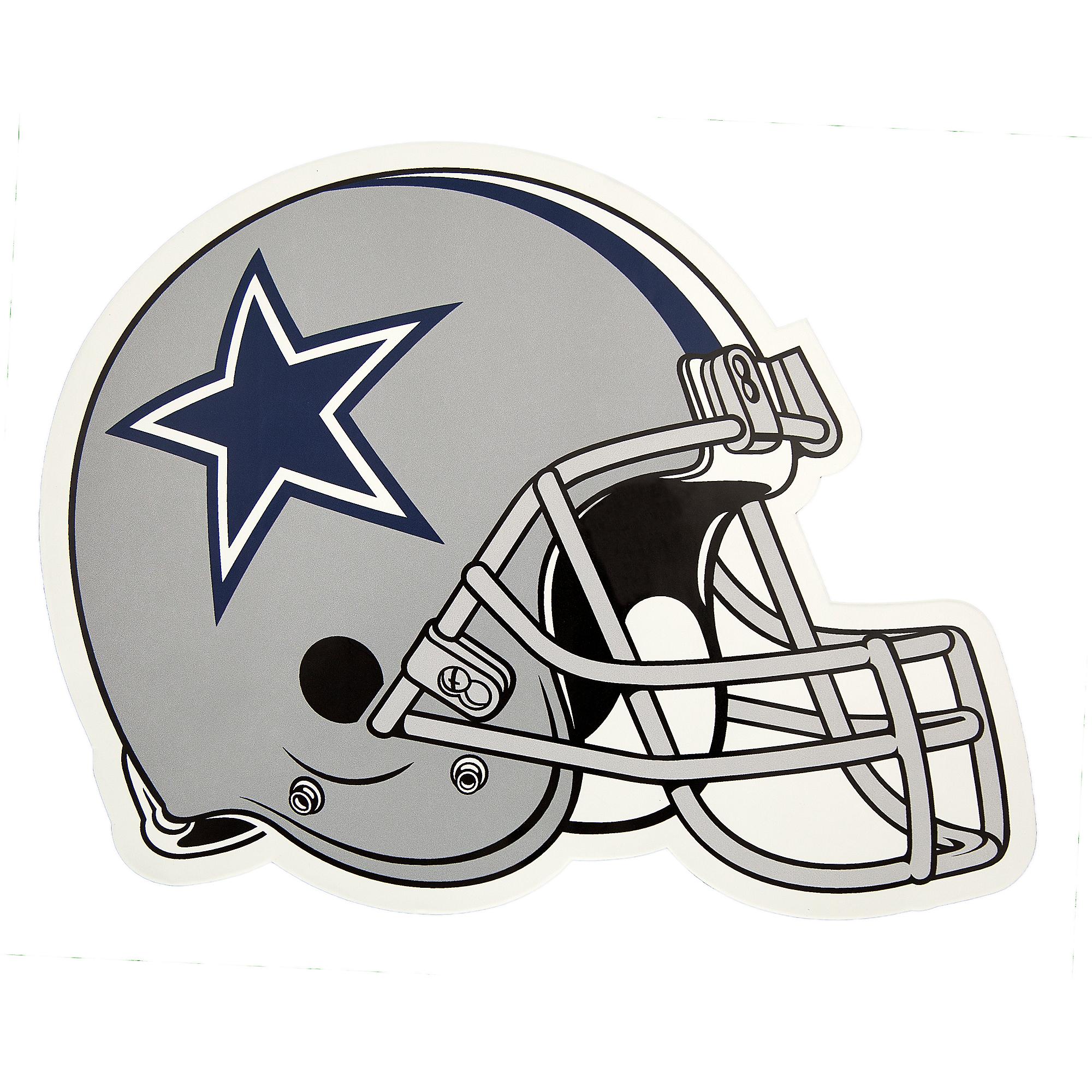 Dallas Cowboys Outdoor Small Helmet Graphic