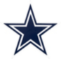 Dallas Cowboys Outdoor Primary Mark Graphic