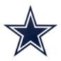Dallas Cowboys Outdoor Primary Mark Graphic