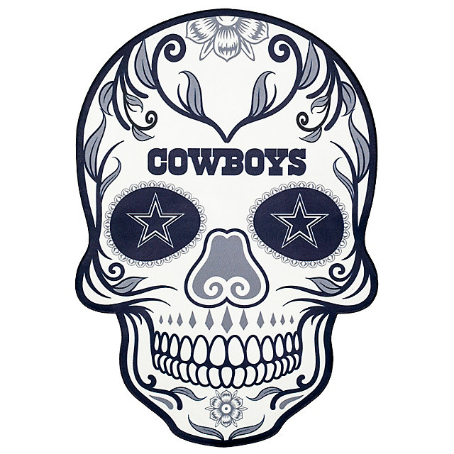 Dallas Cowboys Outdoor Skull Graphic