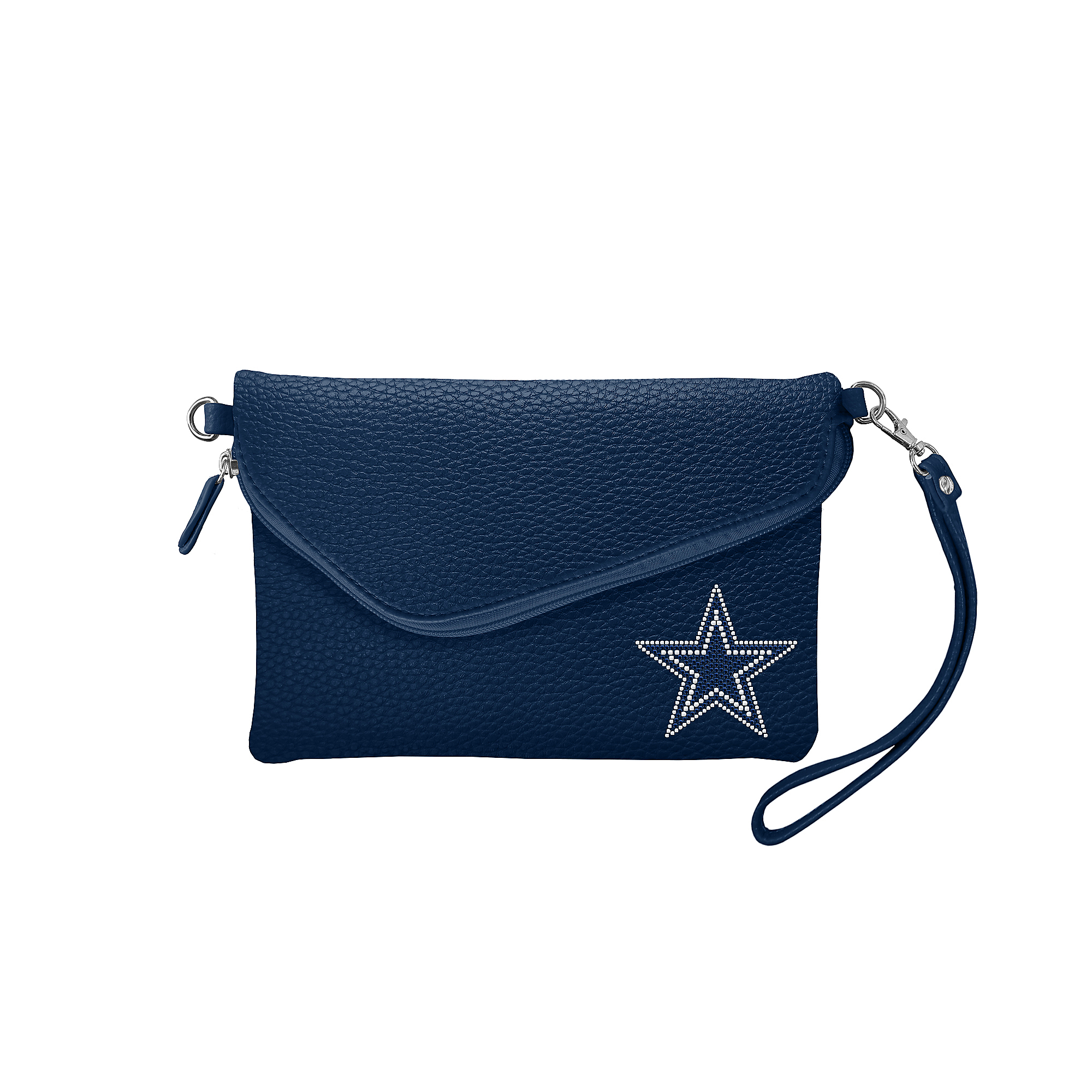 Dallas Cowboys Pebble Fold Over Purse