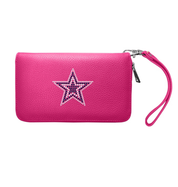 Dallas Cowboys Pebble Zip Organizer