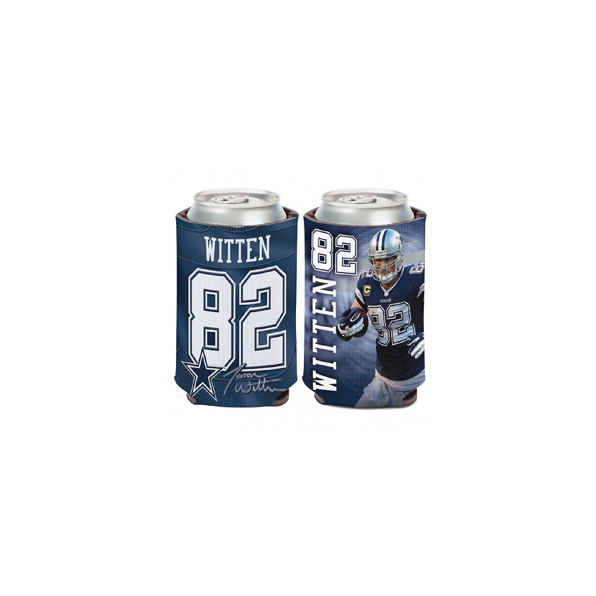 Dallas Cowboys Jason Witten Player Can Koozie