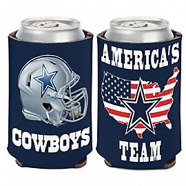 Dallas Cowboys Slogan Can Cooler