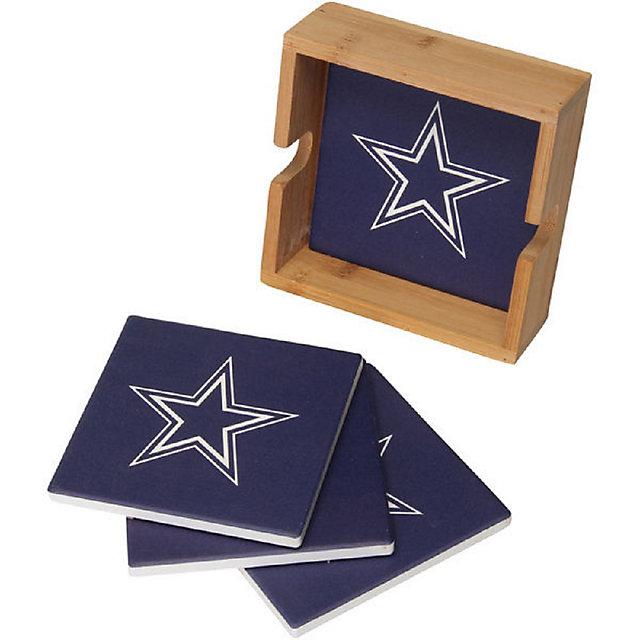 Dallas Cowboys Square Coaster Set