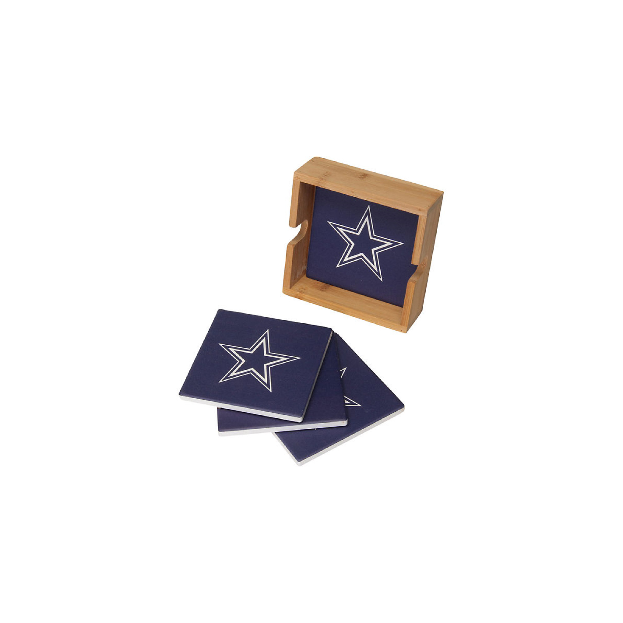 Dallas Cowboys Square Coaster Set