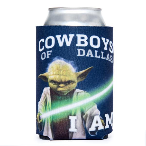 Dallas Cowboys Star Wars Can Cooler