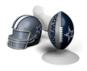 Dallas Cowboys Suckerz Football Helmet Phone Stand