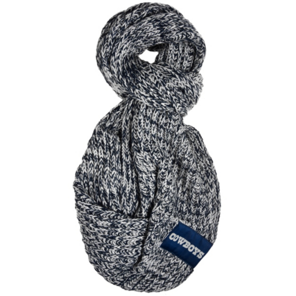Dallas Cowboys Womens Peak Infinity Scarf