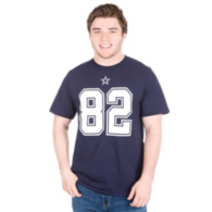Dallas Cowboys Jason Witten 82 Authentic Name and Number Tee