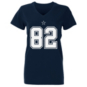 Dallas Cowboys Womens Jason Witten #82 Authentic Name and Number Tee